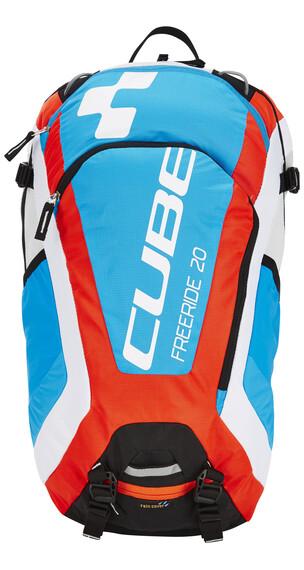 Cube Freeride 20 Ryggsäck röd/blå